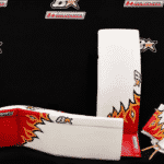 Eddie Lack Calgary Flames 2017 Brian's Custom Sports Gear