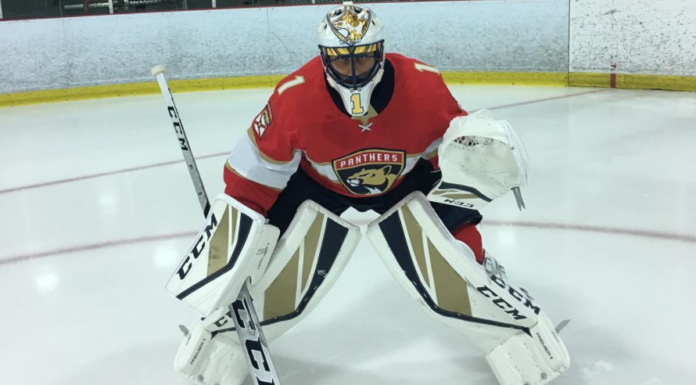 Roberto Luongo posed for Instagram in his new CCM Premier II gear on Thursday, August 3rd